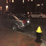 Illegal Parking at Intersection Of Marlborough St & Clarendon St