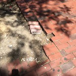Broken Sidewalk at 21 Merchants Row, 1