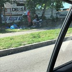 Litter at Intersection Of Massachusetts Ave & Melnea Cass Blvd, Roxbury