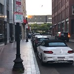 Illegal Parking at Intersection Of Tufts St & South St