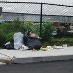 Residential Trash out Illegally at 23 Edgewater Dr, Mattapan