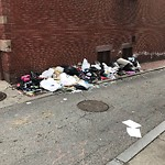 Residential Trash out Illegally at Intersection Of Public Alley No. 432 & Public Alley No. 433