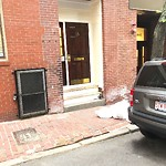 Residential Trash out Illegally at 12 16 Garden St