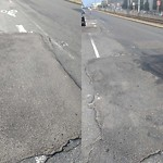 Pothole at 855 861 Commonwealth Ave