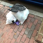 Residential Trash out Illegally at 48 52 Phillips St