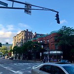 Traffic Signal at Intersection Of Massachusetts Ave & Marlborough St