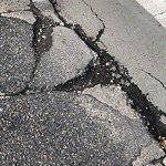 Pothole at Intersection Of Seventh St & First Ave, Charlestown