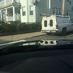 Illegal Parking at Intersection Of Westglow St & Adams St, Dorchester