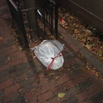 Residential Trash out Illegally at 17 Irving St, Apt 1
