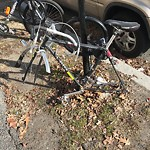 Abandoned Bicycle at 1191 Boylston St, Bsmt