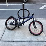 Abandoned Bicycle at 77 Westland Ave