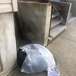 Litter at 137 Havre St, East Boston