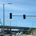 Traffic Signal at Intersection Of Austin St & New Rutherford Ave, Charlestown