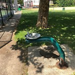 Broken Park Equipment at Toohig Playground