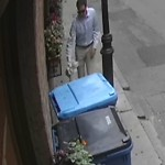 Residential Trash out Illegally at 104 Salem St, 1