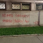 Illegal Graffiti at Intersection Of Avery St & Tremont St