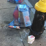 Residential Trash out Illegally at 257 North St