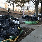 Residential Trash out Illegally at 394 Riverway Mission Hill