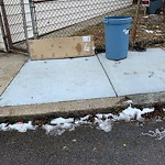 Residential Trash out Illegally at 16 Leeds St, South Boston