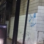 Illegal Graffiti at Intersection Of Wrentham St & Dorchester Ave, Dorchester