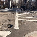 Pothole at Intersection Of Joy St & Beacon St