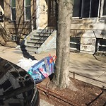 Residential Trash out Illegally at 300 K St, South Boston
