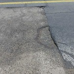 Pothole at 43 River St, Mattapan