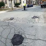 Pothole at 37 Egremont Rd, Brighton