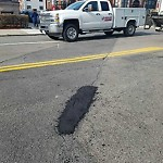 Pothole at Intersection Of Brainerd Rd & Harvard Ave, Allston