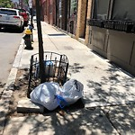 Residential Trash out Illegally at Intersection Of Fountain Pl & Hanover St
