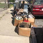 Residential Trash out Illegally at 10 Navillus Ter, Dorchester