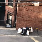 Residential Trash out Illegally at 286 Marlborough St