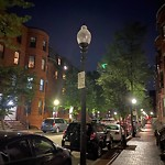 Street Lights at 72 W Newton St, Roxbury