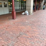 Residential Trash out Illegally at 1 Congress St, E375