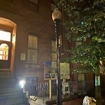 Street Lights at 76 W Newton St, Roxbury