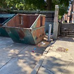 Residential Trash out Illegally at Intersection Of O'meara Ct & Medford St, Charlestown