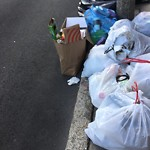 Residential Trash out Illegally at 19 Cortes St