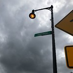 Street Lights at 1883 1889 Centre St, West Roxbury
