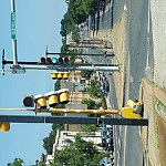 Traffic Signal Repair at Intersection Of Woodhaven St & Blue Hill Ave, Mattapan