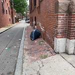 Residential Trash out Illegally at Intersection Of Public Alley No. 430 & Public Alley No. 431