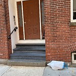 Residential Trash out Illegally at 106 Prince St