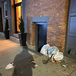 Residential Trash out Illegally at 116 Salem St