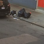 Residential Trash out Illegally at 300 North St, 4