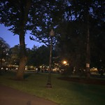 Park Lights at Intersection Of Brimmer St & Beacon St