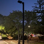 Park Lights at Intersection Of Call St & Crosby Sq, Jamaica Plain