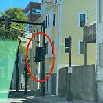 Traffic Signal at Intersection Of Medford St & Terminal St, Charlestown
