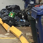 Residential Trash out Illegally at 36 Hano St, 2, Allston