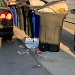 Residential Trash out Illegally at 632 E Second St, South Boston