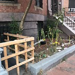 Residential Trash out Illegally at 680 Massachusetts Ave, Roxbury