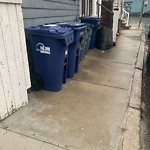 Residential Trash out Illegally at 43 Preble St, South Boston